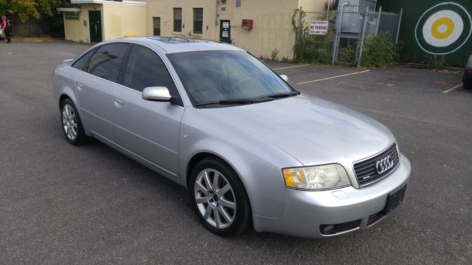 2004 Audi A6 Quattro Bi Turbo Must See Central Ottawa