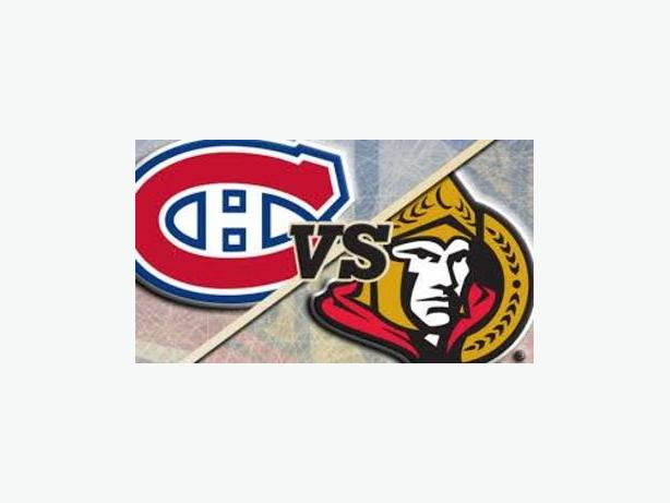 Sens v Habs - October 15th - 7pm - Canadian Tire Centre