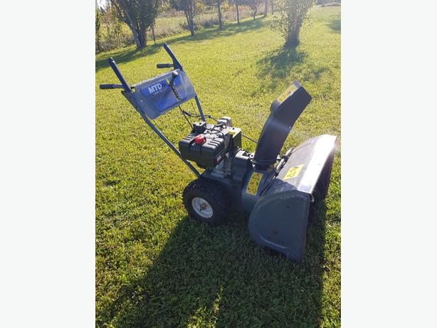 "snowblower 24"" 8.5 hp"