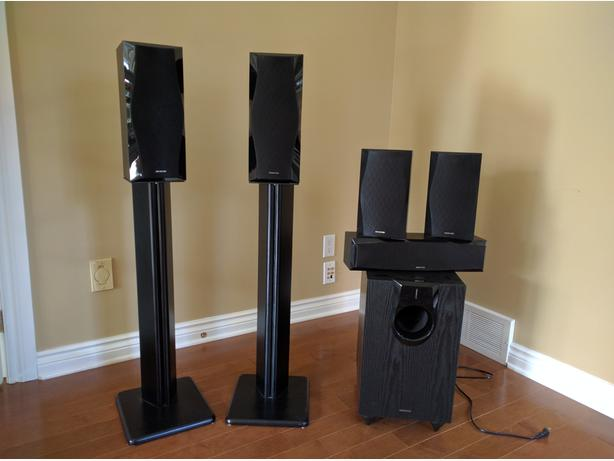 Onkyo Surround Sound Speakers