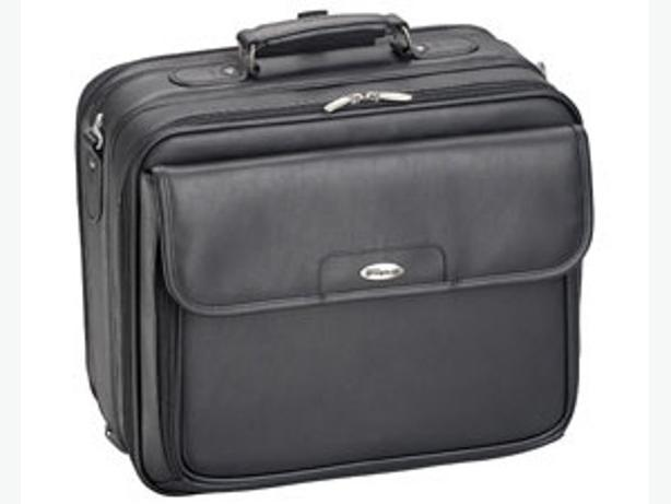 Black Multicompartment Targus laptop bag