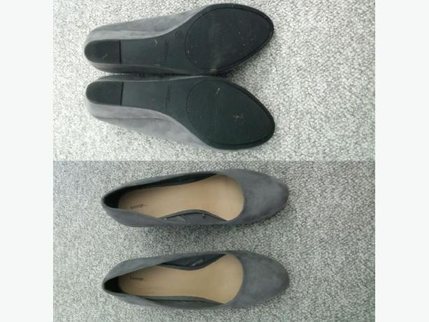 George size 10 wedge shoes