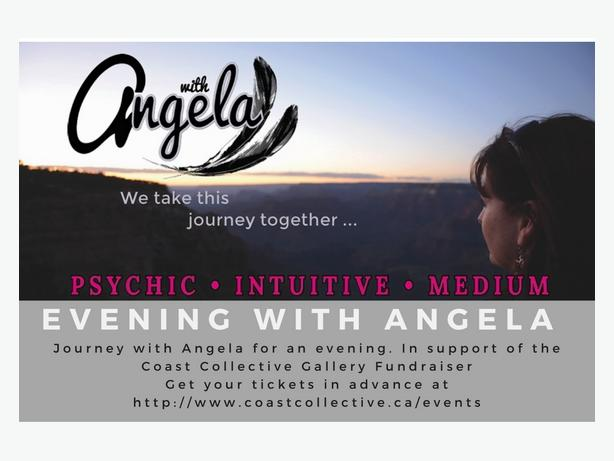 Psychic Intuitive Medium- Evening with Angela- Fundraiser!
