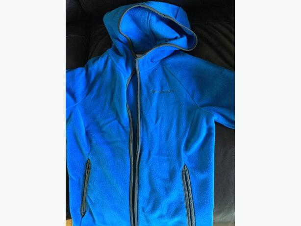 Boys medium Columbia fleece jacket