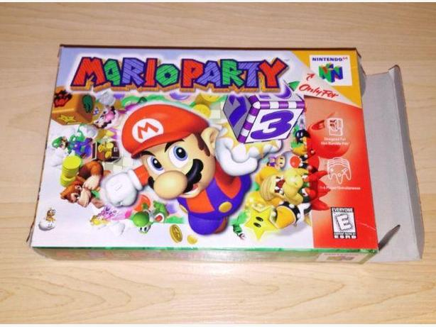 Mario Party BOX Only - Like New Condition