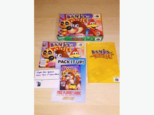Banjo-Tooie Box & Manual ONLY