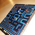 Vintage 1982 Pac-Mania Pac-Man Puzzle