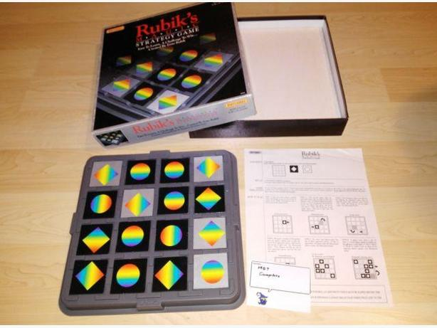 1987 Rubik's Magic Strategy Game by Matchbox Complete