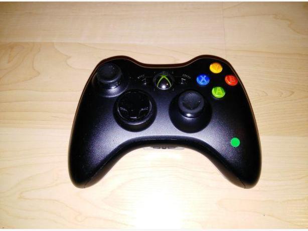 Authentic Black Xbox 360 Wireless Controller