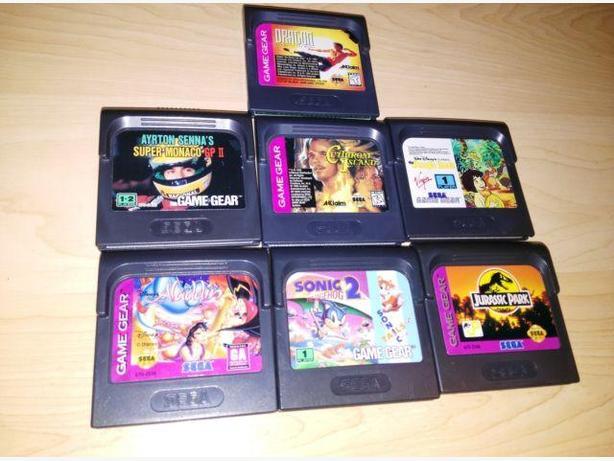 Lot Of 7 Sega Game Gear Games