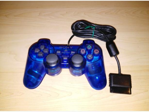 Transparent Sony Playstation 2 Controller
