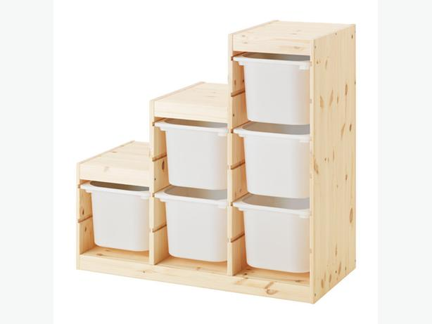 IKEA Solid Pine TROFAST Storage Units