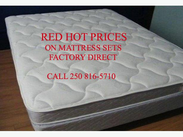 RED HOT DEALS ON FLOOR MODEL MATTRESS SETS