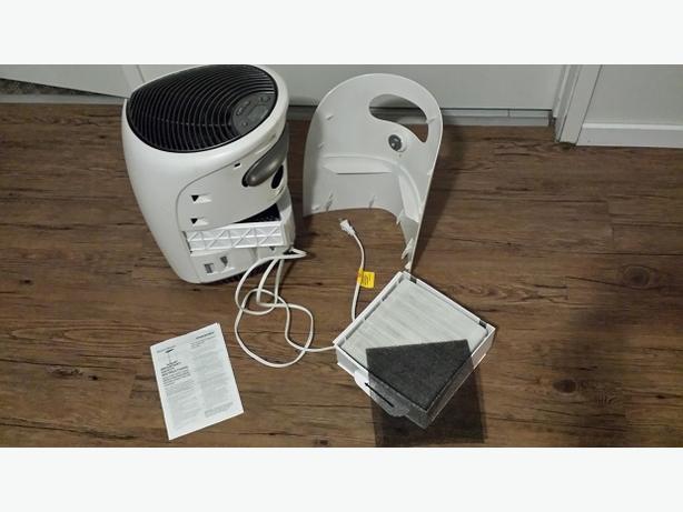 AIR PURIFIER HEPA-grade permanent cleanable filter