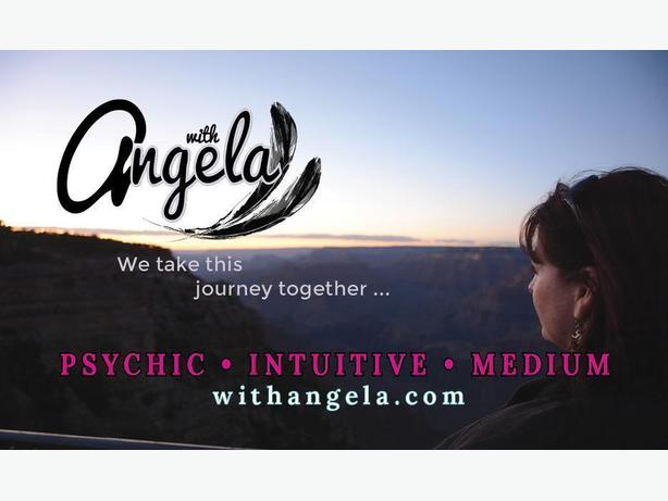 Give the Gift of a Psychic Reading with Angela- Psychic Intuitive Medium