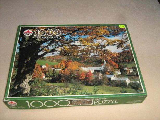 500 - 1000  PIECES  JIGSAW  PUZZLES - $2.00  EACH