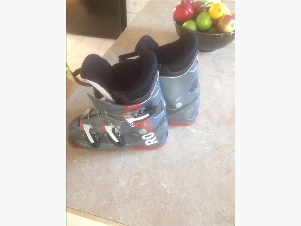Rossignol Jr. Comp boots size 22.5