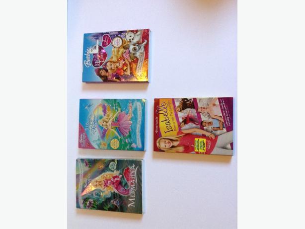 American Girl/Barbie DVDs
