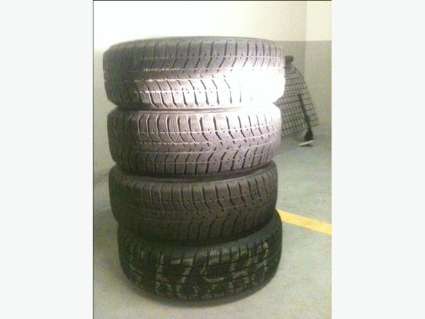 Blizzak snow tires 195 60 15 ford fiesta ,focus