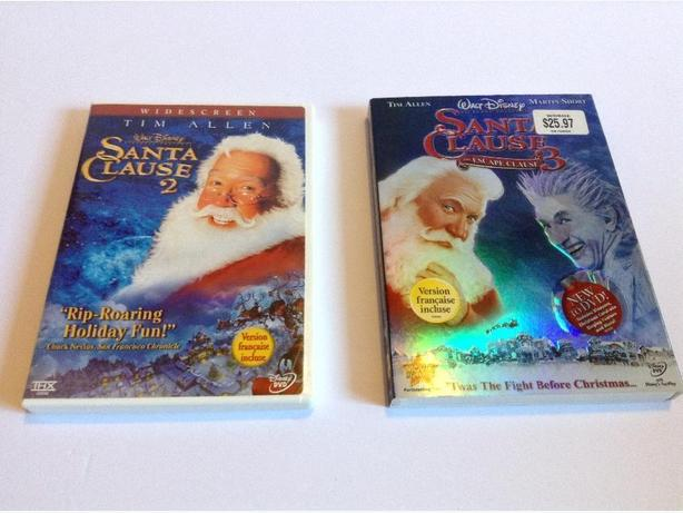 DVDs-The Santa Clause