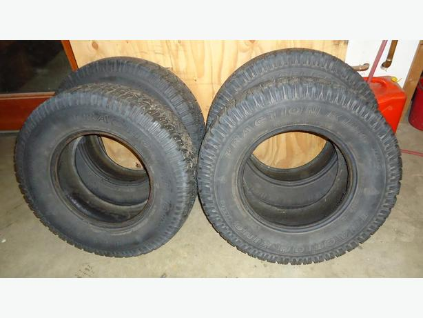 Studded Winter Tires LT 235/75R15 - Used One Winter