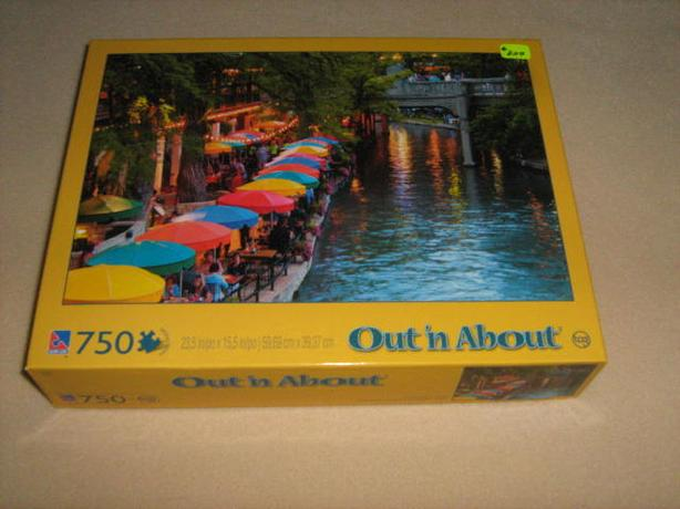 500 - 1000  PIECES  JIGSAW  PUZZLES - $3.00  EACH
