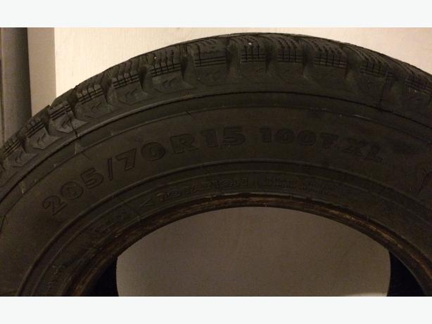 Complete Set of Winter Car Tires