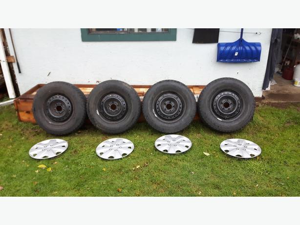 """Hancook 15""""  Winter Tires"""