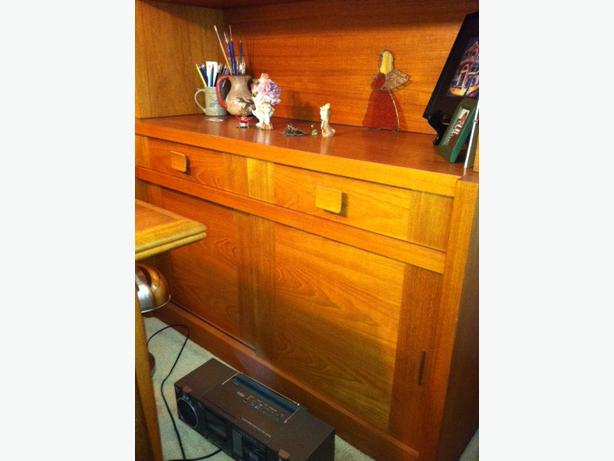 Vintage/Near Mint Solid Teak Dining Suite
