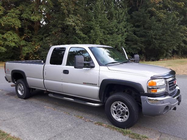 GMC 2500 4x4 HD extended cab