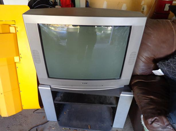 """29"""" Apex Colour TV and stand for Sale"""
