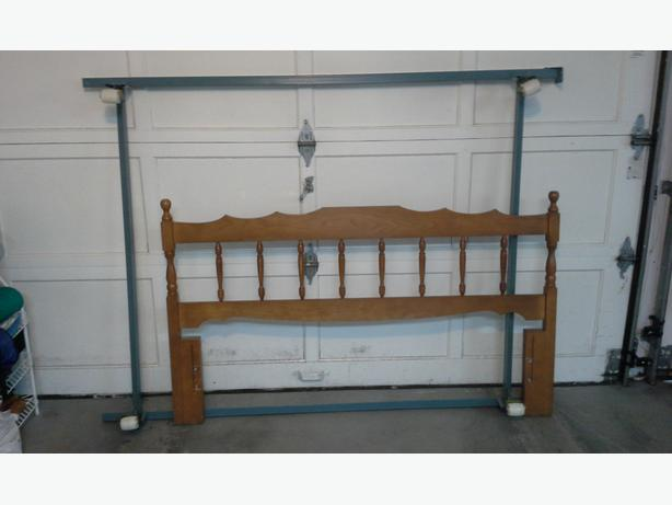 Double/Full Size Bedframe and Headboard