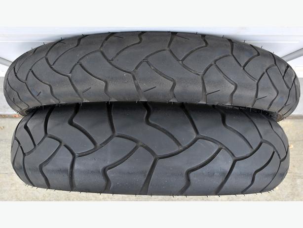 "USED Bridgestone Battlewing BW502/BW501 17""/19"" ADV Motorcycle Tires"