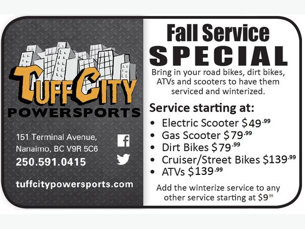 TUFFCITY Fall Service SPECIAL Winterize Motorcycle ATV Scooter L@@K!