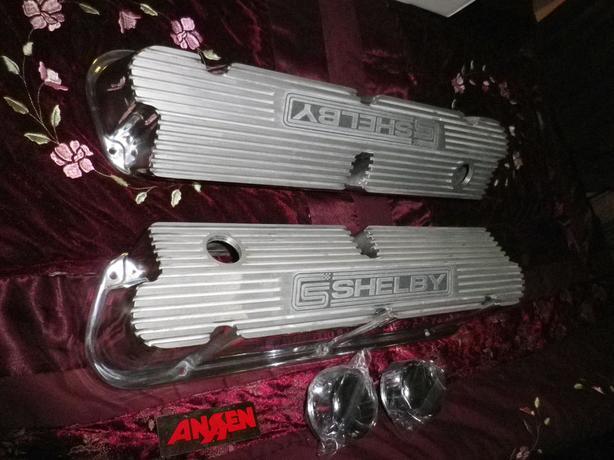 RARE PENTROOF VALVE COVERS SMALL BLOCK FORD