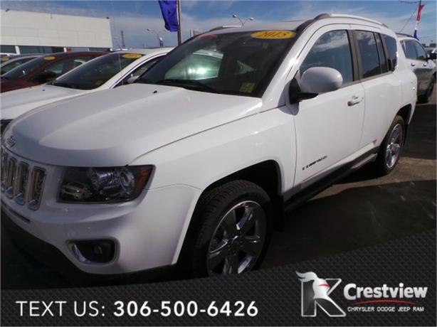 2015 Jeep Compass Limited 4x4 w/ Sunroof