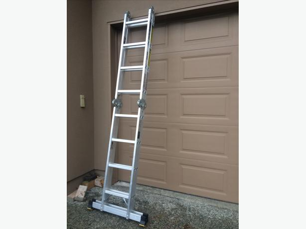 17 Foot Articulating Ladder