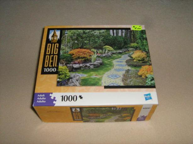 VARIOUS  JIGSAW  PUZZLES - $4.00 EACH