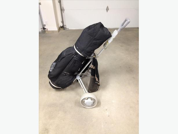 Golf Clubs, Bag, Pull Cart