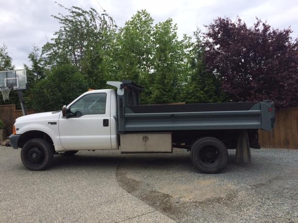 Falling and Mini dump truck service