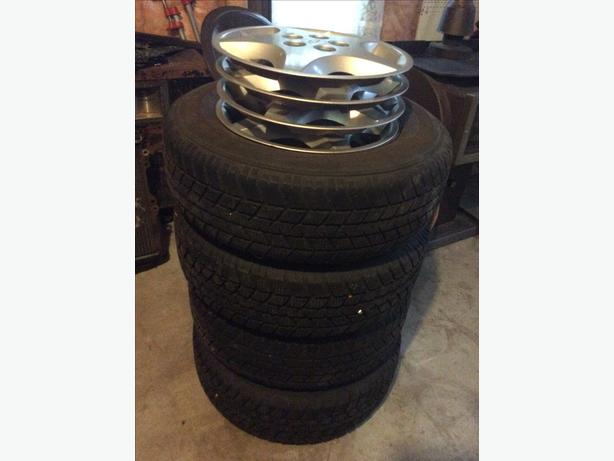 Set rims and tire,cavalear