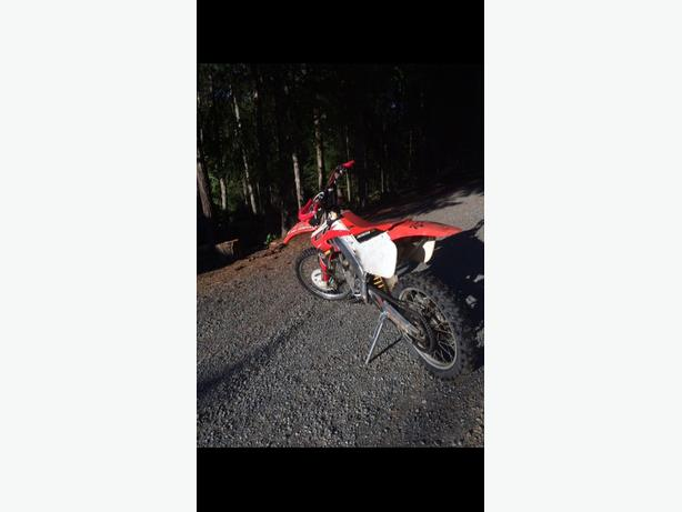 1998 CR125R set for trails