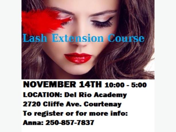 Lash Extension Course-Register Now!