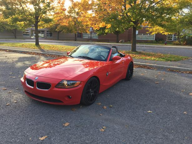 Red BMW Z4 Convertible - Immaculate Condition