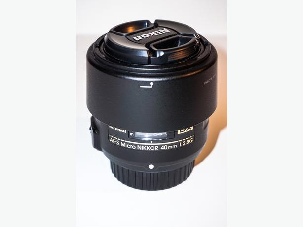 Nikon 40mm f/2.8G Macro