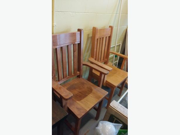Solid Wood Chair for Desk (Brand New)