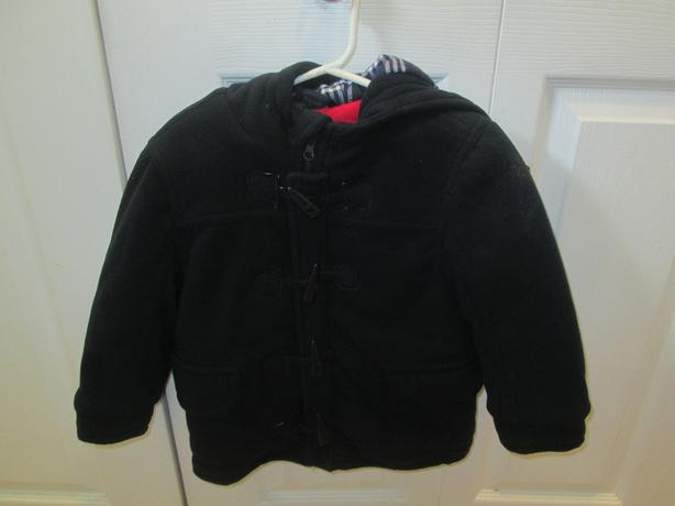 Blue winter fleece jacket - size 3