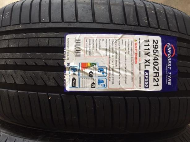 NEW 295/40/R21 Kinforest KR-550 tires –Mercedes GL / GLS
