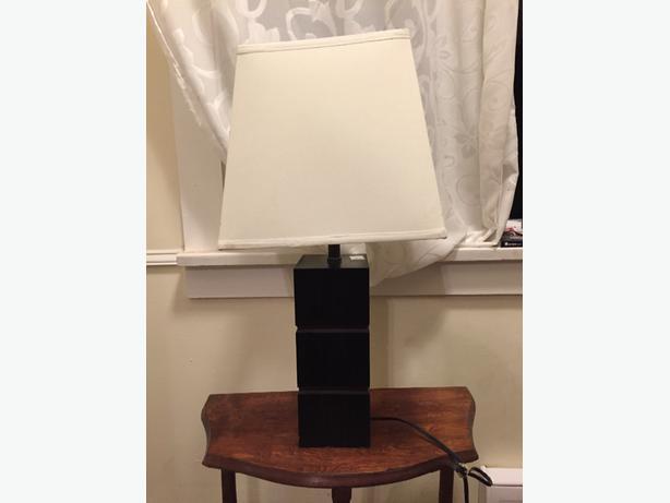 "2 ""Maui Style"" lamps"