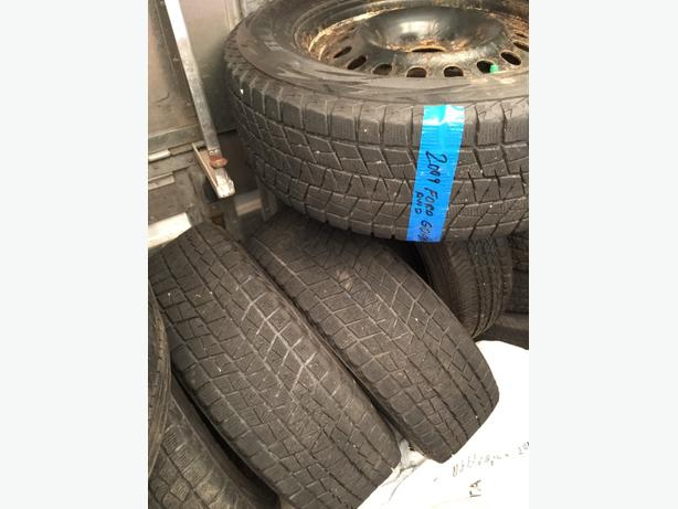 Michelin Winter Tires With Rims Ford Edge